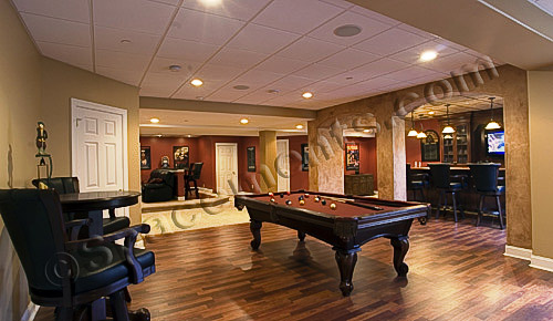 Rustic Basement Apartment: Basement ideas with a bar. Basement apartment ideas creatively making ...