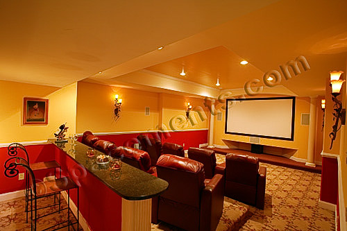 Media Rooms In Basements | House Designs