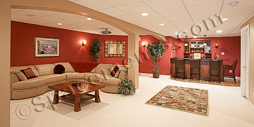 Finished Basement Home Theater & Wet Bar | Chester Springs, PA
