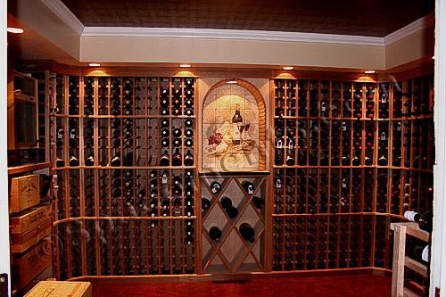 Basement wine cellar roselawnlutheran for Small basement wine cellar
